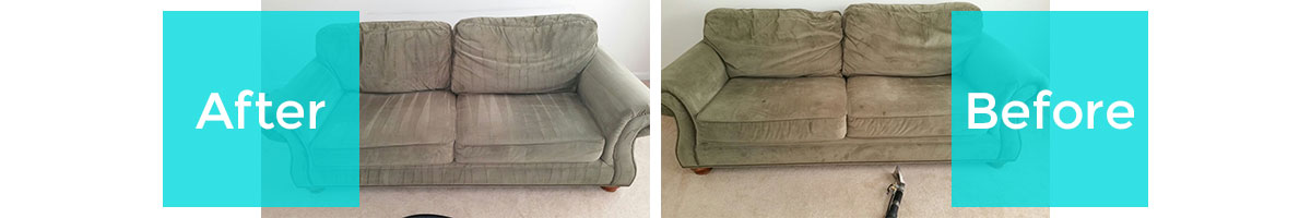 Before/After Upholstery Cleaning in Northgate Heights